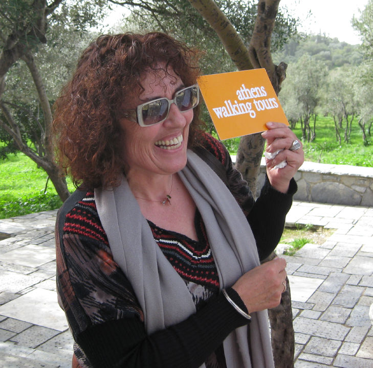 Despina Savvidou - Founder of Athens Walking Tours