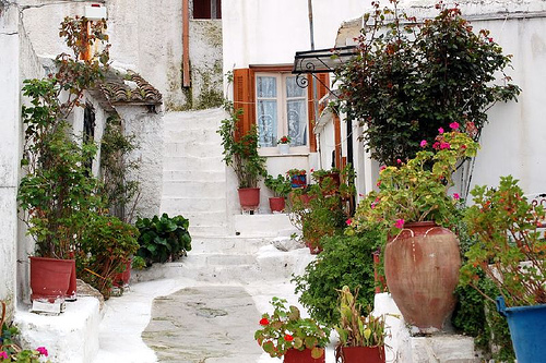 A Small Piece of the Cyclades in the Historic Center of ...