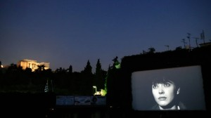 Watch your favorite film under the starry Athenian sky.