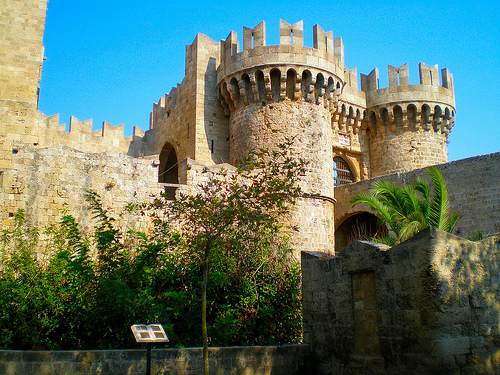 Relive the crusades on  the popular and beautiful Greek island of Rhodes.