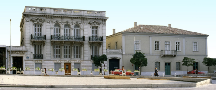 The beautiful Museum of the City of Athens Vouros - Eutaxias