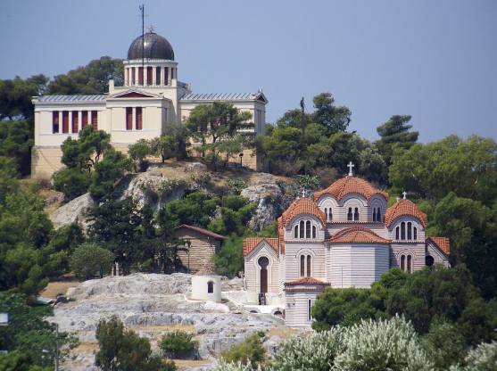 The Observatory and St. Marina's church