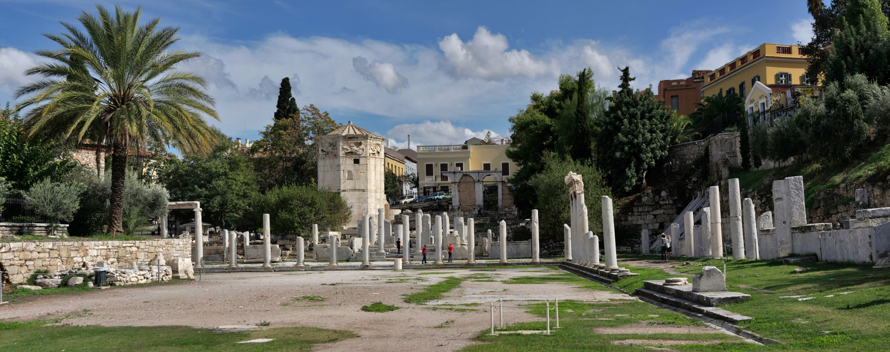"The Roman Agora of Athens and the famous ""Tower of the Winds"" (photo by Andreas Trepte)"