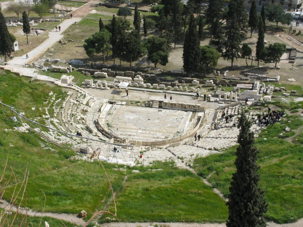 The glorious Theatre of Dionysus