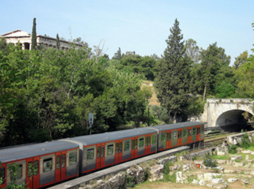 "The ""Green line"" Piraeus to Kifissia"