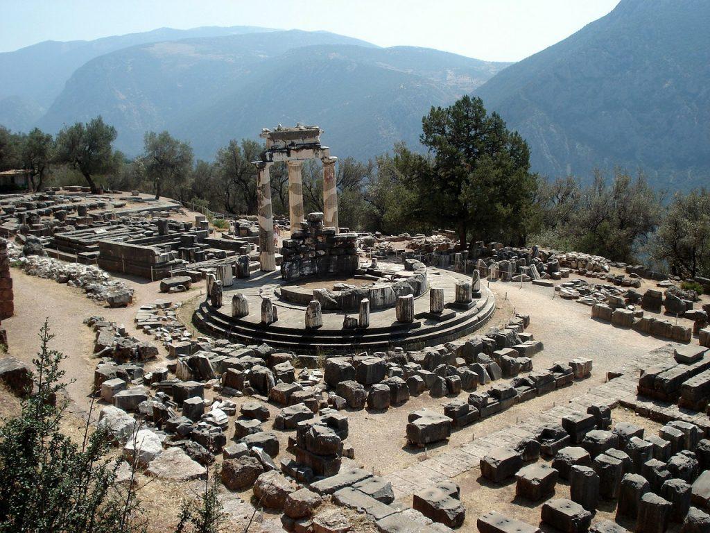 Delphi - the famous ancient sanctuary