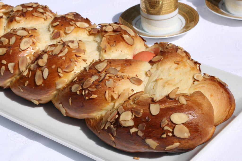 """The delicious Greek """"tsoureki""""!"""