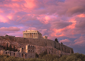 The Sacred Rock of Athens - The Acropolis. Absolutely Magnificent.