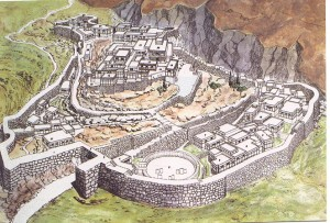 This is what Mycenae may have looked like in the 13th Century BC