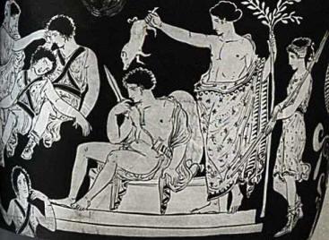 dionysos-throne