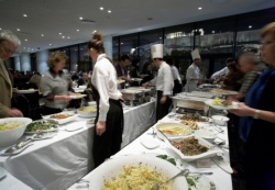 A rich buffet at the Acropolis Museum restaurant. Reserve your table today!