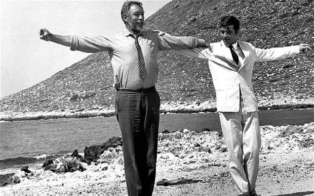 Zorba the Greek (1964) starring Anthony Quinn