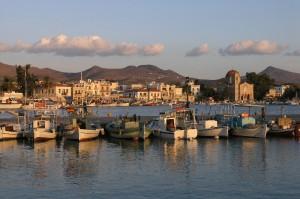 Aegina looks even more beautiful at sunset.