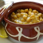 Greek chickpea soup (revithia)