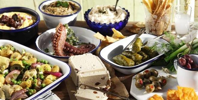 Sarakosti's dishes