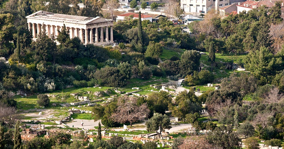 Walk upon the ancient path of philosophers in the Ancient Agora.