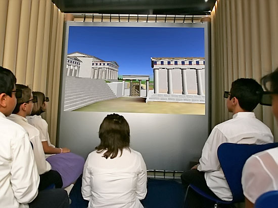 Learning about Ancient Greece is fun and educational at the Foundation for the Hellenic World.