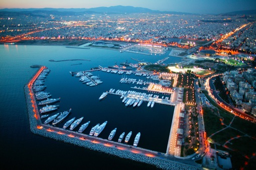 The Marina Flisvos in Southern Athens