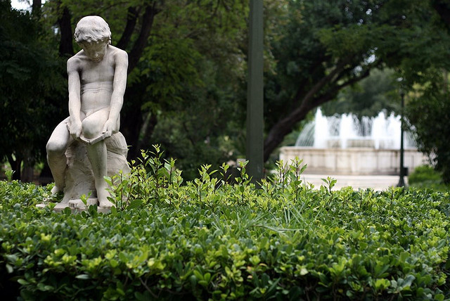 A City Oasis in the National Gardens of Athens