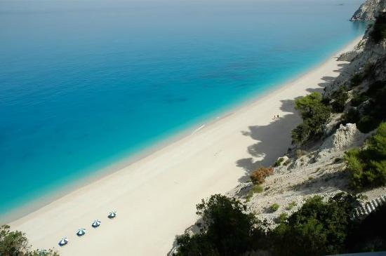 Egremeni Beach In Lefkada