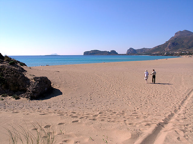 Although last on CNN's List - Falasarna Beach in Western Crete is One Of My All-Time Favorites.