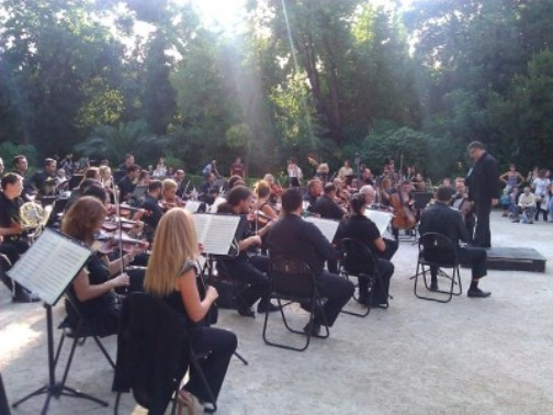 The Athens Gardens Festival in the Greek National Gardens