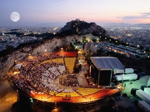 A Summer Concert at Lykavitos Hill Theatre