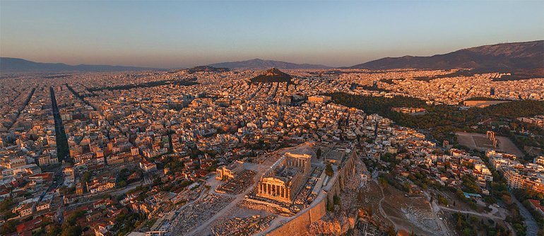 Athens in the Air