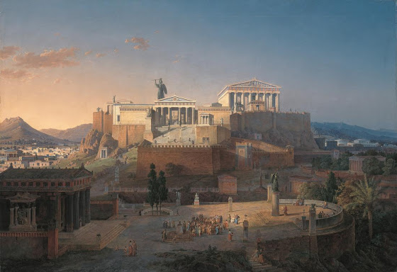 What the Acropolis originally looked like.