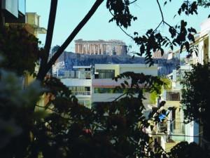 Acropolis view from Kolonaki
