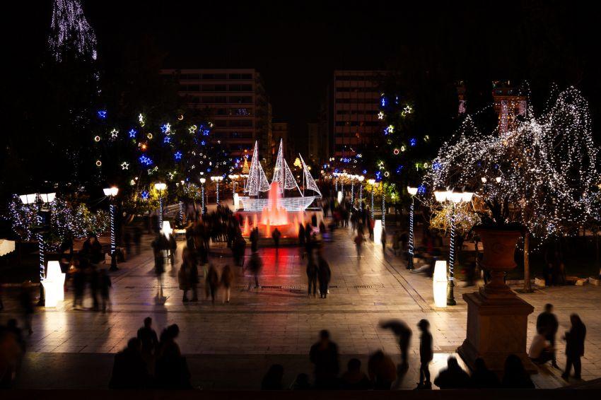 Syndagma square Chrsitmas
