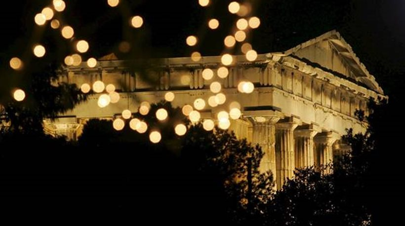 lights acropolis
