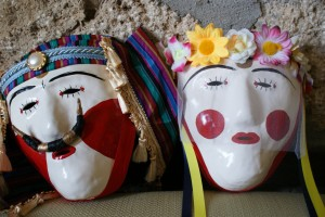 Boules of Naousa's Carnival Festival Masks (Northern Greece) Flickr photo by Thanasis Paparnakis
