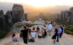 Magical sunset tour to Meteora