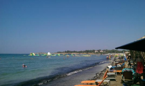 Glyfada Beach (Apollo Coast- accessible by tram)
