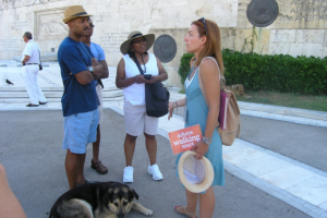Let the beauty of August - Athens be revealed to you by Athens Walking Tours!