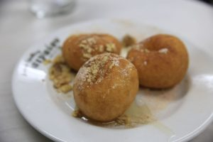 Traditional loukoumades