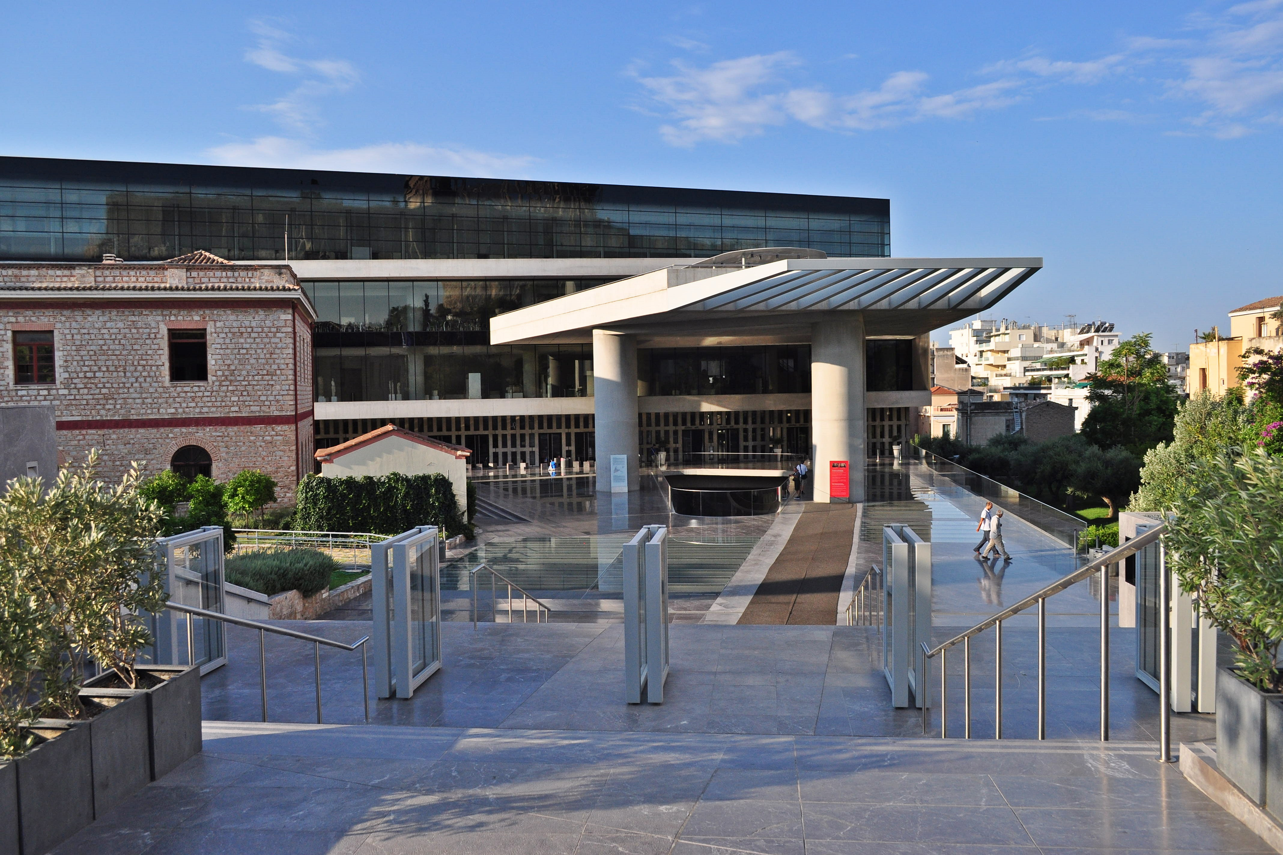 New Acropolis Museum Cafe