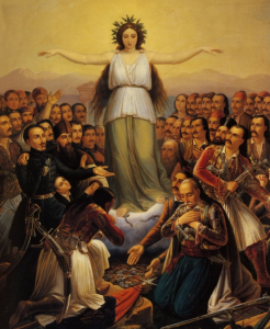 Grateful Hellas (1858) - Theodoros Vryzakis