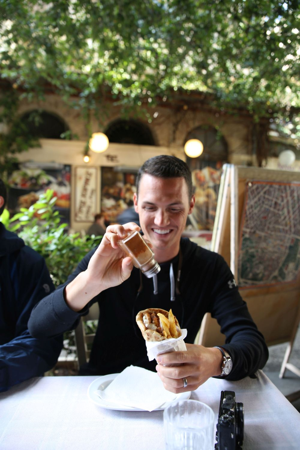 Athens food tour: Ready for the first bite of gyros!