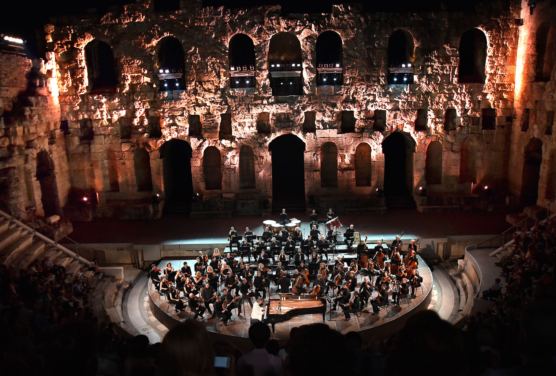 The Ancient Theatre of Epidaurus, famous for its extraordinary acoustics, can be visited also during the day!
