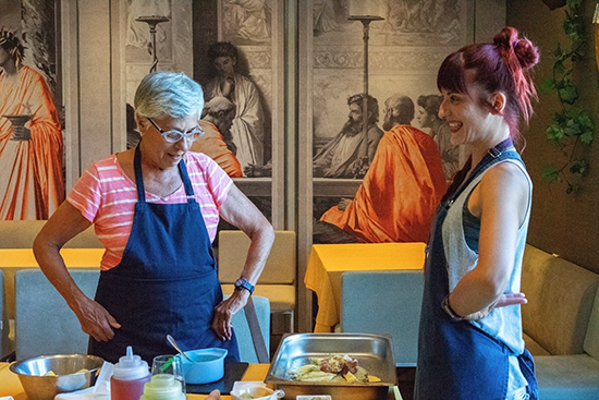 Private Athens Cooking Lesson & Dinner