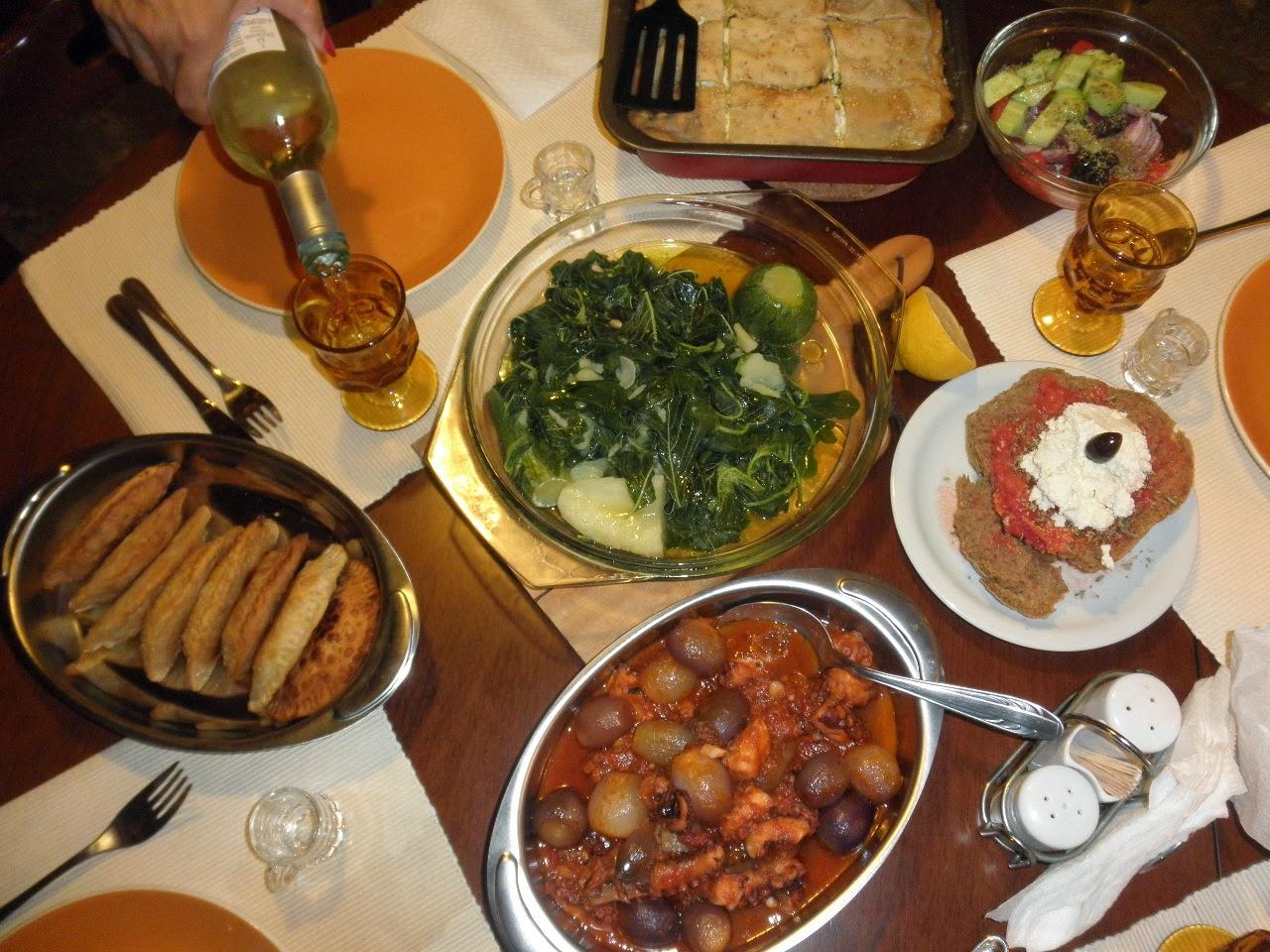 Meze tales: A Greek saga