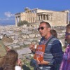 Just the Acropolis Tour with entrance fees included