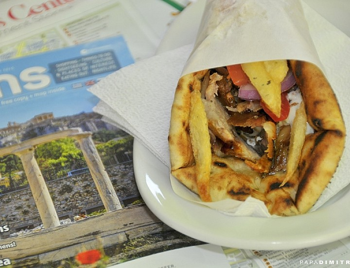 Shore Excursion: Athens Food Tour & Free Time in Plaka