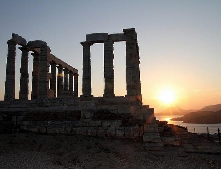 Sunset Tour: Cape Sounion & Temple of Poseidon